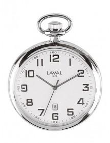 Montre de poche chromée avec affichage minute Laval 1878 89,00€ 89,00€