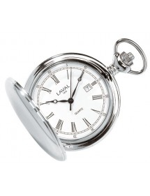 LAVAL pocket watch, chrome with lid and Roman numerals 755312 Laval 1878 99,00 €