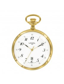 LAVAL pocket watch, gold metal with dial 3 hands 750267 Laval 1878 116,00 €