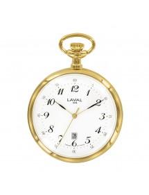 Montre de poche LAVAL métal doré avec cadran 3 aiguilles 99,00€ 99,00€