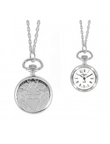 Pendant watch with Roman numerals and heart pattern 750340 Laval 1878 99,00 €