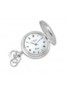 Pendant watch silver Roman Numeral 3 hands 755243 Laval 1878 125,00 €