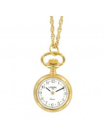 gold pendant watch two...