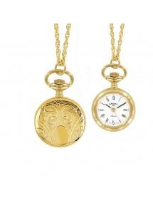 Montre pendentif médaillon pour femme chiffres romains 3 aiguilles 750331 Laval 1878 99,00€