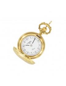 Anhänger Uhr für die Frau in der goldenen Blumenmotiv 755252 Laval 1878 129,00€