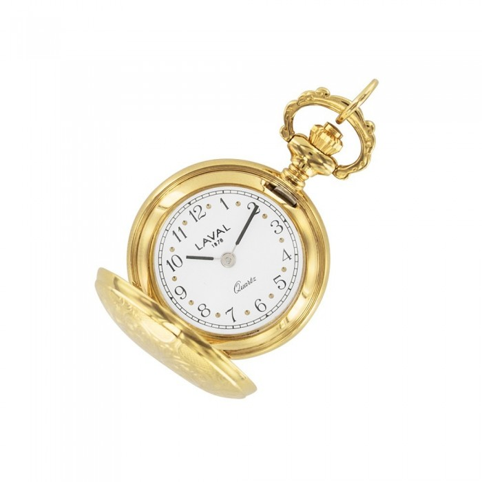 Women's pendant watch with gold floral pattern 755252 Laval 1878 159,00€