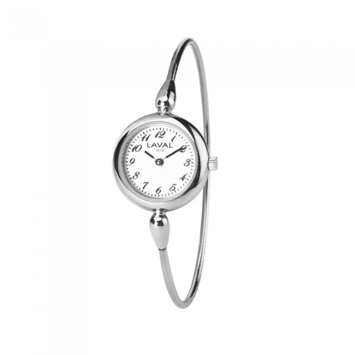Women's round-arm watch with round silver dial 754633 Laval 1878 139,00 €