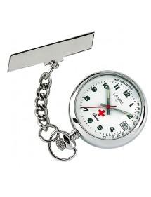 Reloj de enfermera para mujer con broche. 750275 Laval 1878 69,00€