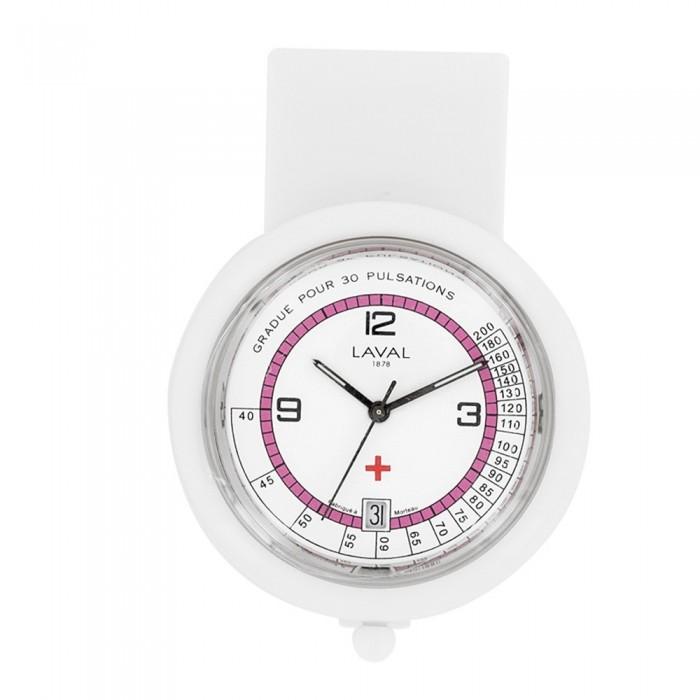 Nurse watch Laval 1878 - Clip plastic pink 59,90€ 59,90€