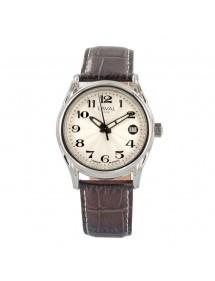 Montre automatique LAVAL avec bracelet en cuir de buffle marron 249,00€ 249,00€