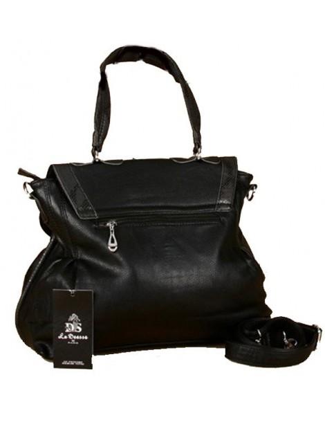 Crocodile imitation Goddess handbag - Black 36256 La deesse de Paris 32,90€
