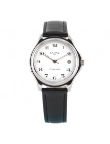 Montre homme automatique avec bracelet synthétique noir Laval 1878 154,00€ 154,00€