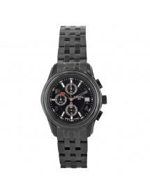 Montre LAVAL dato 3H et bracelet en acier noir, étanche 50 m 249,00€ 249,00€