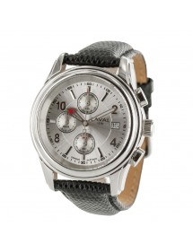 LAVAL watch, chronograph with buffalo leather strap, waterproof 50 m 755214 Laval 1878 179,00€
