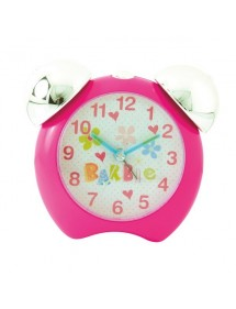 Réveil Barbie pour petite fille avec 2 cloches, couleur rose 14,90€ 7,45€