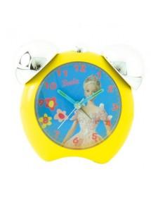 gelbe Uhr 2 Glocken Barbie gelbe Farbe 800105 Barbie 14,90€