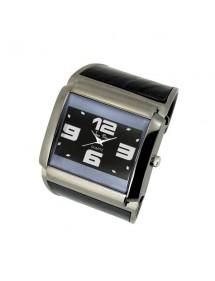 Montre Jean Patrick bracelet froissé couleur gris à clip - Gris 15,00€ 15,00€