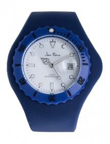 Montre Mixte Jean Patrick Bracelet en silicone Bleu 770207BB Jean Patrick 18,00€