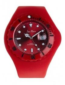 Montre homme Jean Patrick bracelet silicone rouge 19,90€ 19,90€