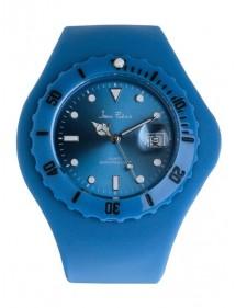Montre homme Jean Patrick bracelet silicone Bleu 19,90€ 19,90€