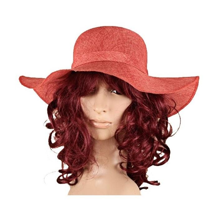 Sombrero rojo poliéster 38192 Paris Fashion 17,90€