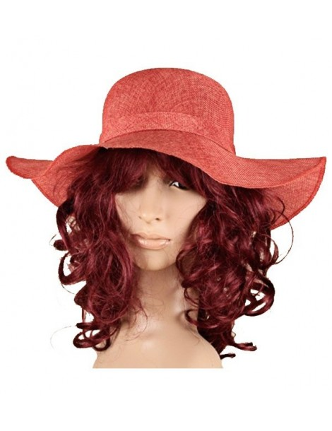 Chapeau rouge en polyester uni 38192 Paris Fashion 17,90 €