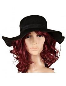 Chapeau noir en polyester uni 17,90€ 9,85€