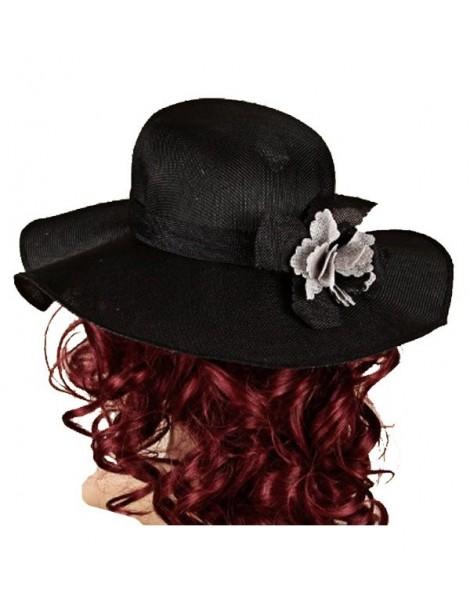 Chapeau noir en polyester uni 38196 Paris Fashion 17,90€