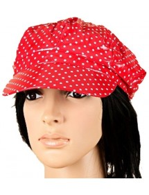 Red and white cap 39434 Paris Fashion 4,50 €