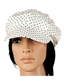 black and ecru cap 39435 Paris Fashion 4,50 €