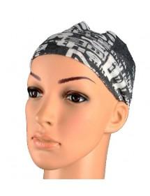 Schwarz und Grau Stirnband 46940 Paris Fashion 2,50€