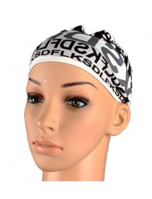 Headband alphabet black, gray and white 46941 Paris Fashion 2,50 €