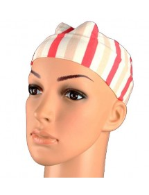 Headband white stripes,...