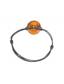 Armband Bernstein und Silber Nature d'Ambre 3180998 Nature d'Ambre 33,90€
