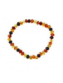 Bracelet élastique en forme de perles en ambre Nature d'Ambre 3180439 Nature d'Ambre 29,90€