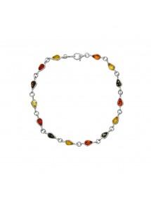 Bracelet ambre avec des petites pierres en forme de goutte 3180461 Nature d'Ambre 69,90€