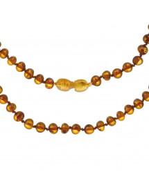 Collier bébé en pierres d'ambre couleur miel avec fermoir clip 39,90€ 39,90€