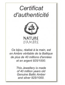 earrings Nature d'Ambre
