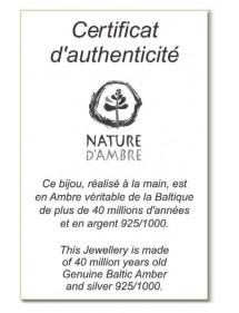 earrings Nature d'Ambre