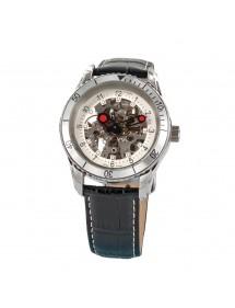 Montre automatique LAVAL boîtier acier et bracelet en cuir de buffle 189,00€ 189,00€