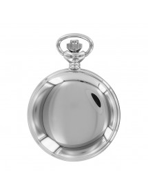 LAVAL chrome pocket watch,...