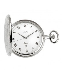 Montre de poche LAVAL en métal argenté, 3 aiguilles chiffres romains 149,00€ 149,00€