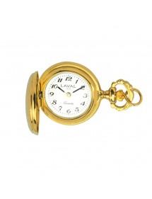 Montre pendentif pour femme à motif médaillon doré 755012 Laval 1878 129,00€