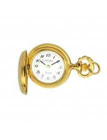 Women's pendant watch with yellow medallion pattern 755012 Laval 1878 129,00 €