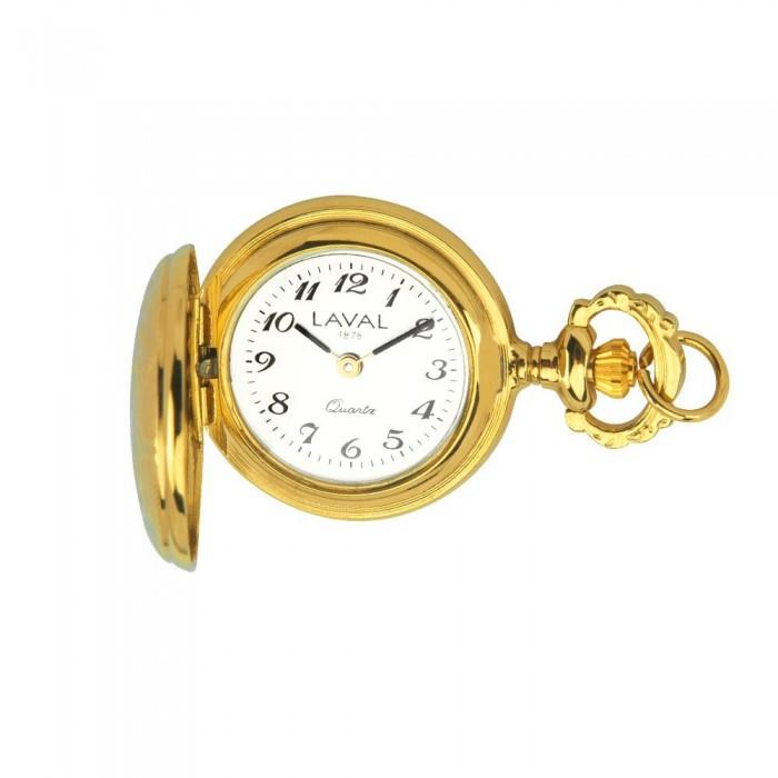 5444bed4bdcb Reloj colgante para mujer con estampado de medallón amarillo. 129