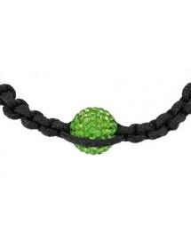 Black shamballa bracelet...