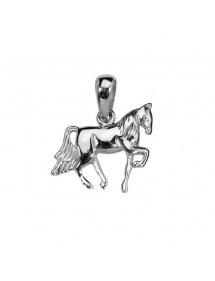 Pendentif cheval en argent 925/1000