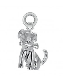 Silver pendant - dog with its bone 31610359 Laval 1878 27,90 €