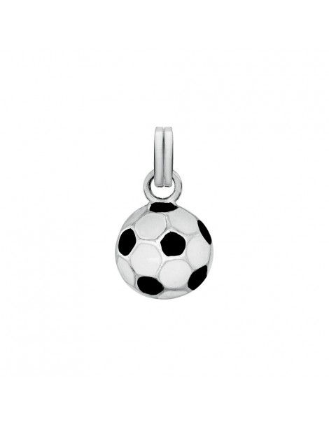 Black and white enamel soccer ball pendant 31610352 Laval 1878 33,00 €