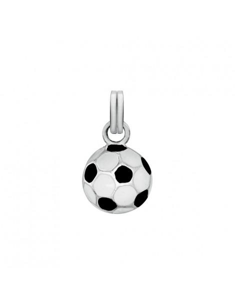Pendentif ballon de foot noir et blanc en émail 31610352 Laval 1878 33,00€